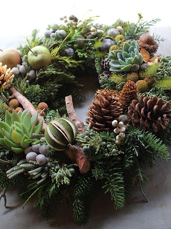 Fresh Christmas Wreath Lecture | フレッシュクリスマスリース・レクチャー