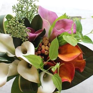 Calla Clutch Style Bouquet