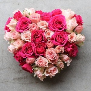 Pure Heart Rose